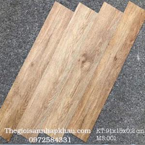 Sàn nhựa keo dính M-001